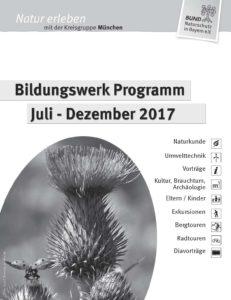 Bildungswerk Programm Veranstaltungen BUND Naturschutz München