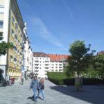 Josefsplatz Fußgänger