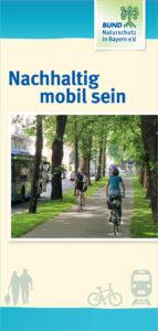 Nachhaltig mobil sein Projektstelle Flyer Titelseite
