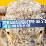 Wir haben es satt Demo 2018 ökologische Landwirtschaft