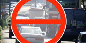Auto Verkehr Mittlerer Ring Luftreinhaltung Fahrverbot