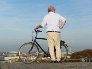 Fahrrad Mobilität Olympiagelände