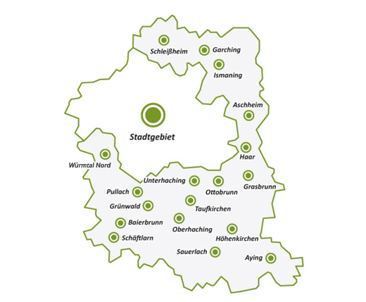 Die Kreisgruppe München des Bund Naturschutz ist in Stadt und Landkreis München aktiv