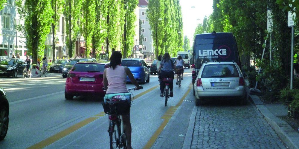Abruptes Ende trotz Erfolg? BUND Naturschutz für Beibehaltung der Pop-Up Radspuren