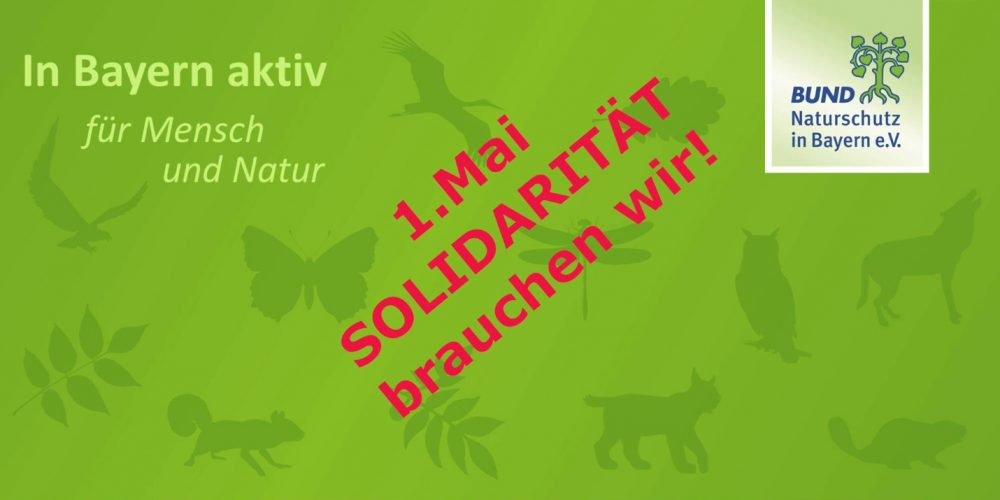1. Mai: Wir brauchen Solidarität