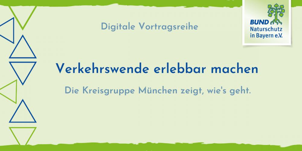 """Digitale Vortragsreihe: """"Verkehrswende erlebbar machen"""""""