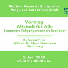 Webinar: Altstadt für Alle