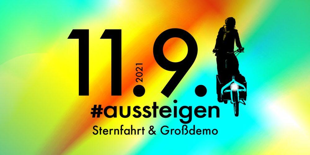 Sternfahrt & Großdemo anlässlich der IAA in München